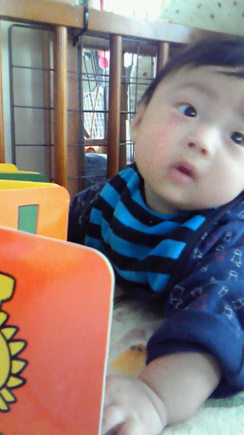 生まれて5ヶ月目〜〜〜